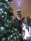 Empire State Building di notte